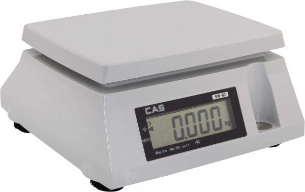 Весы электронные SW-02 сбоку
