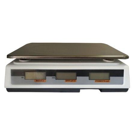 Весы торговые ФорТ-Т 769 (15; 2) LCD Маркет дисплей