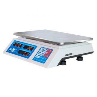 Весы торговые ФорТ-Т 918 (15.2) LCD Оптима сбоку