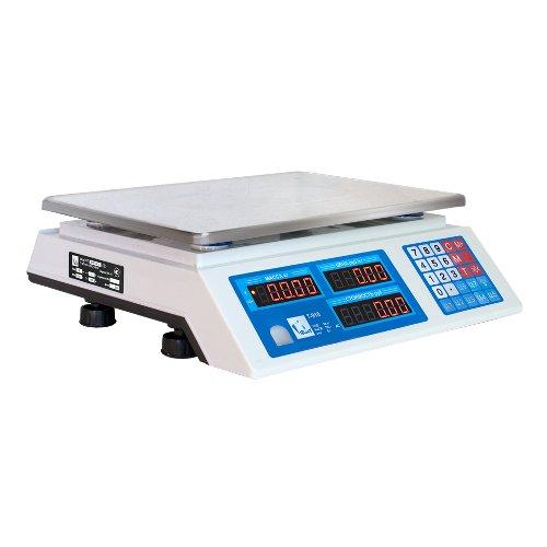 Весы торговые ФорТ-Т 918 (32.5) LCD Оптима сбоку