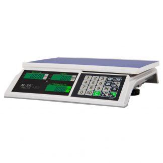 Торговые весы с экраном M-ER 326AC «Slim»