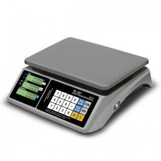 Весы торговые M-ER 328 AC «Touch-M» с экраном и панелью управления