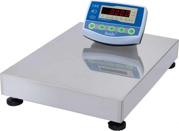 Весы напольные СКЕ-60-4050 (60 кг) RS 400х500 комплектующие