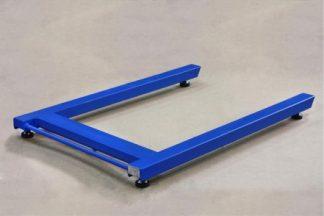 Весы паллетные ВСП4- 600.2П9 синие
