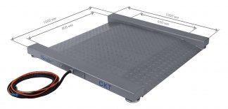 Весы платформенные скейл СКТ модуль