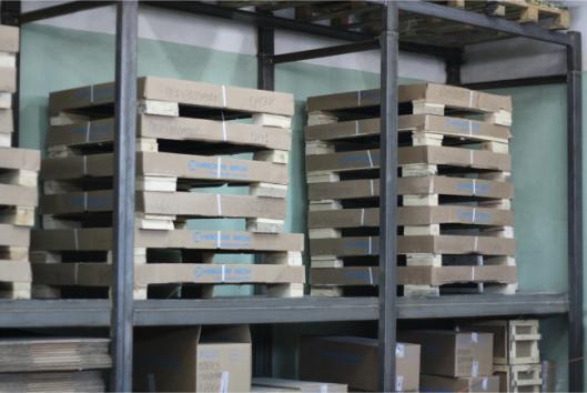 Весы платформенные ВСП4 на складе