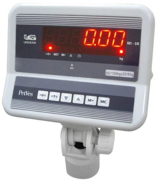 Палетные весы ев4-рс с индикатором wi-2R lcd дисплей