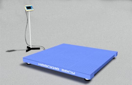 Универсальные платформенные весы (ВСП4-А) демонстрация